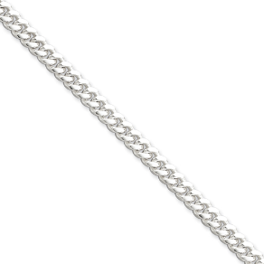 Sterling Silver Curb Chain Bracelet in 2 Lengths