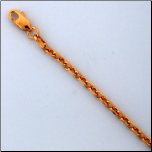 Rose Gold Vermeil  Sterling Silver Chain in 2 Lengths