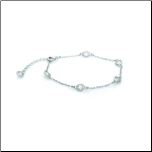 "7+2"" Diamonds By The Yard Rhodium Plated Bracelet"