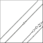 "16"" Sterling Silver Rope Chain"