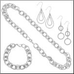 Stainless Steel Designer Inspired Spiral Set from Inox