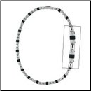 "19"" Stainless Steel and Rubber O-Ring Chain from Inox"