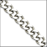 13.75mm Stainless Steel Curb Chain in 2 Lengths