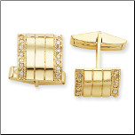 Men's Gold Vermeil Cufflinks