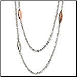 Women's Stainless Steel Necklaces and Chains