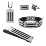 Men's Stainless Steel  Jewelry Sets