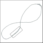 "18"" Inox 2mm Stainless Steel Bead Chain"