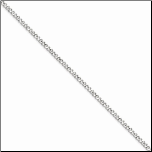 "16"" Stainless Steel 3mm Curb Chain in 5 Lengths"