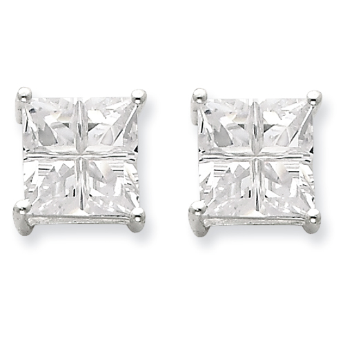Men's Sterling Silver Earrings