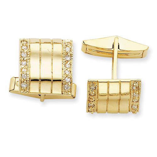 Men's Gold Vermeil Cuff Links